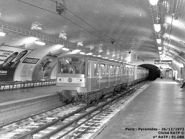 Ateliers >> Paris - Métro - Ateliers de Choisy - MF67 - 21/06/1972