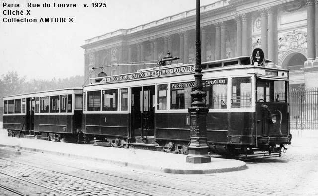 mus e des transports histoires des tramways parisiens. Black Bedroom Furniture Sets. Home Design Ideas