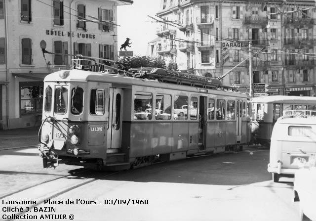 les ann u00e9es cinquante des tramways suisses