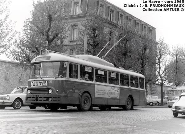 le havre trolleybus apv 1965. Black Bedroom Furniture Sets. Home Design Ideas