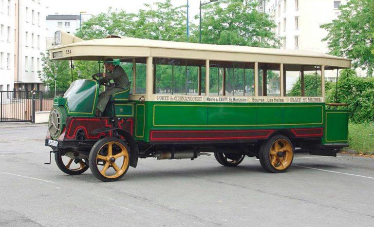 Autobus – Paris – CGO – Schneider H n°534 – 1916