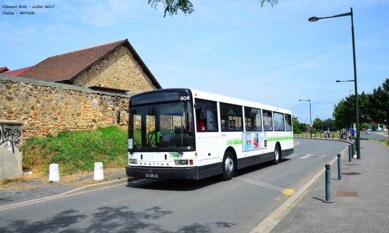 Autobus – Nantes – SEMITAN – Heuliez-Mercedes GX44 n°506 – 1974