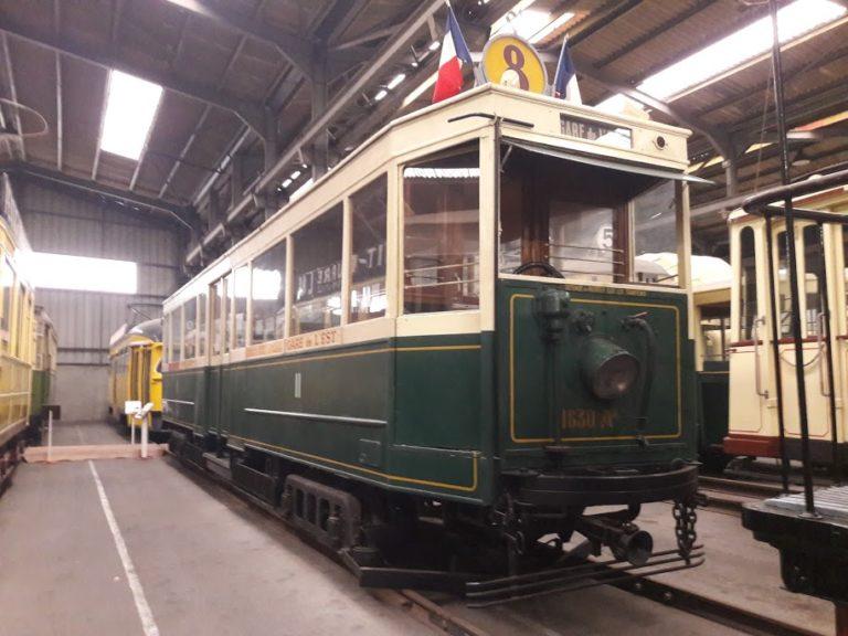 Tramway électrique – Paris – STCRP – Remorque ASL n°1630 – 1929