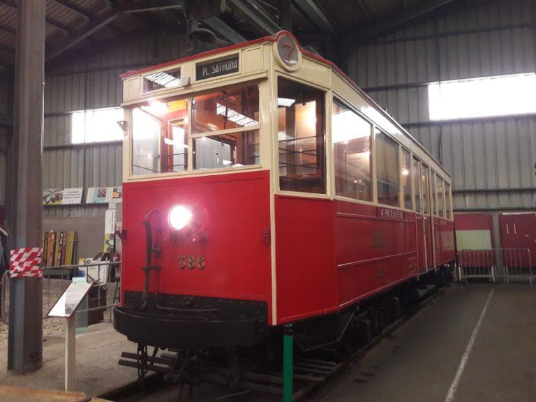 Tramway électrique – Lyon – OTL – Motrice Marcinelle n°386 – 1926