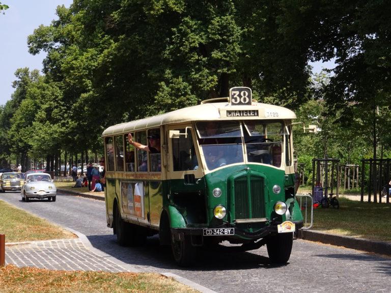 Autobus – Paris – RATP – Renault TN4HP n°3420 – 1936
