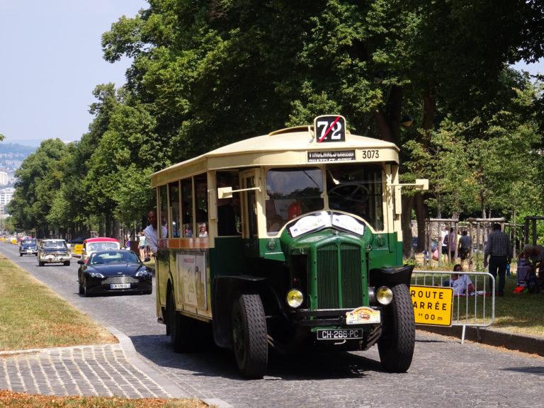 Autobus – Paris – RATP – Renault TN4F n°3073 – 1935