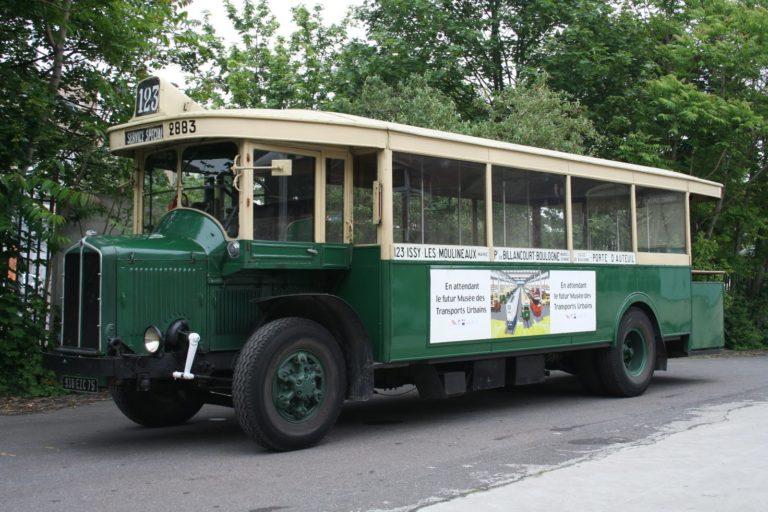 Autobus – Paris – RATP – Renault TN6C2 n°2883 – 1934