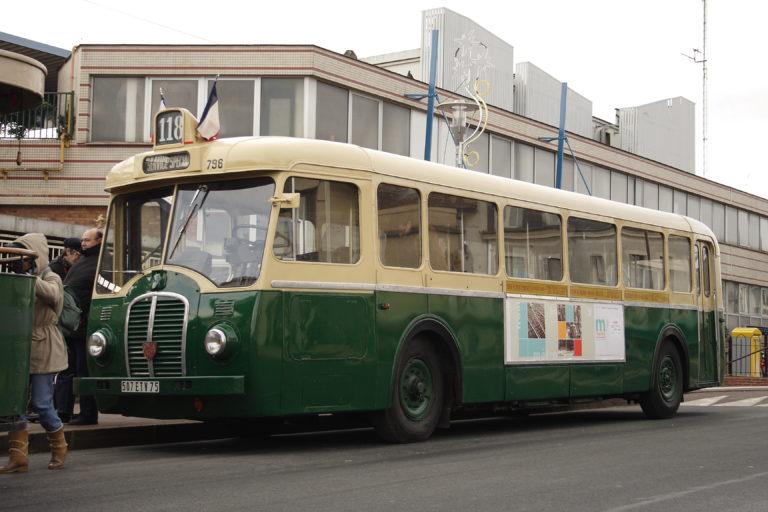 Autobus – Paris – RATP – SOMUA OP5-2 n°796 – 1950