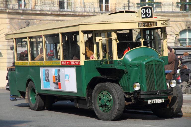 Autobus – Paris – RATP – Renault TN4F n°3272 – 1935