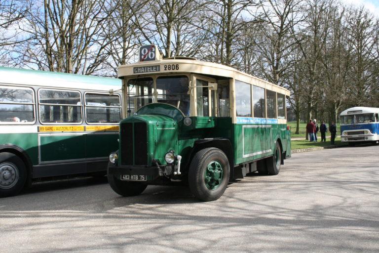 Autobus – Paris – RATP – Renault TN6C2 n°2806 – 1934