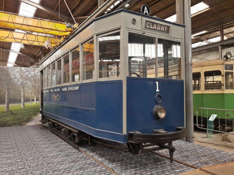 Tramway de Versailles – Motrice n° 1