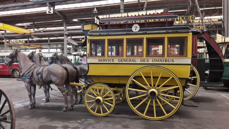 Omnibus hippomobile de Toulouse n° 7