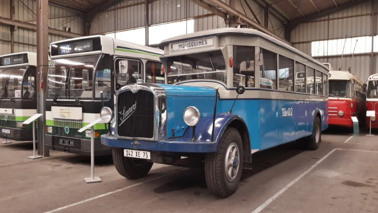 Autobus Saurer BLD de Lausanne