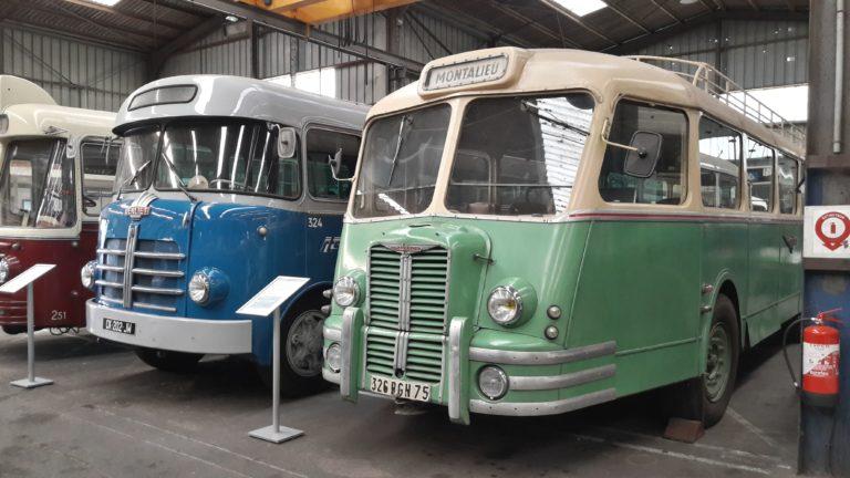 Autobus Chausson APH2-50 des Voies ferrées du Dauphiné