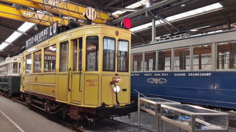 Tramway de Nantes – Motrice n° 127